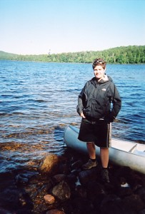 Algonquin park Summer 2005. This isn't instagrammed. It's just a photo taken on a film. Remember those?