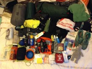 My gear: looks like a bomb went  off  inside Cotswold/MEC