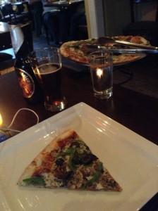 Pizza and beer antidote to pathetic moping