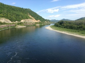 The river separating Quebec from New Brunswick