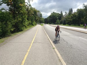 Cycling across Canada courses into triathlon