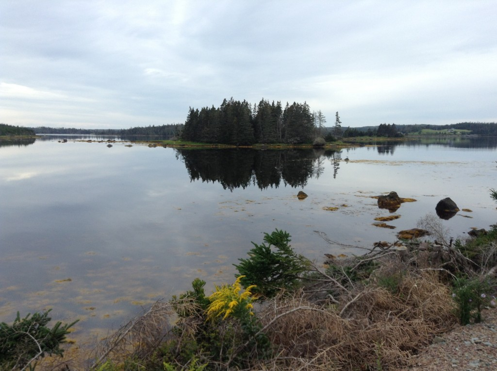 Nova Scotia can be very beautiful when it's not raining