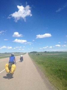 Photo credit: Sofi (taken while riding- kudos to you)