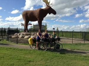 172.5km we get to meet the Moose of Moose Jaw
