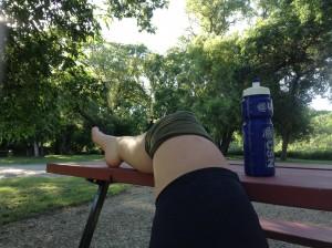 The buff solution: for when I felt, er, weak at the knees