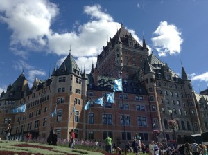 Chateau Frontenac - probably where the Wanderers stayed