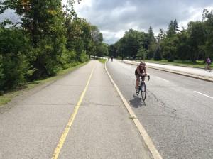 Cycling across Canada courses into triathlon